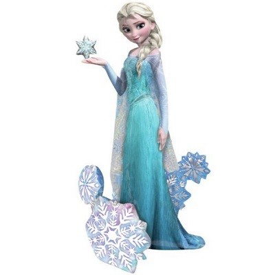 7ecb3824 DISNEY FROST ELSA KJOLE. ELSA AIR WALKER